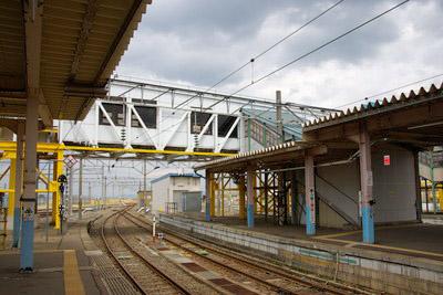 奥羽本線 ⑳ (大釈迦駅、鶴ヶ坂...