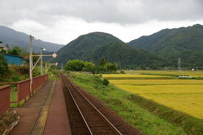 会津線 ② (門田駅、あまや駅、...